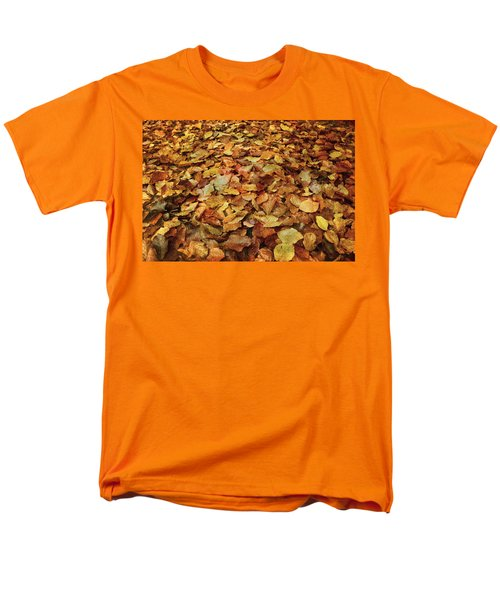 Autumn Carpet Men's T-Shirt  (Regular Fit) by Vittorio Chiampan