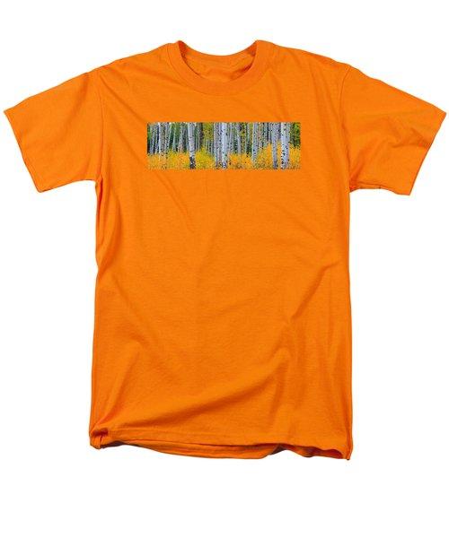 Men's T-Shirt  (Regular Fit) featuring the photograph Autumn Dance by Kadek Susanto