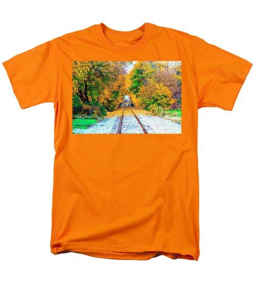 Men's T-Shirt  (Regular Fit) featuring the photograph Autumn Days by Jim Lepard