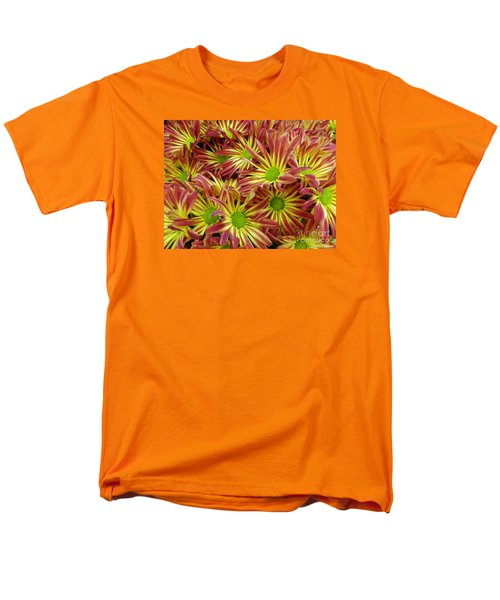 Men's T-Shirt  (Regular Fit) featuring the photograph Autumn Flowers by Lyric Lucas
