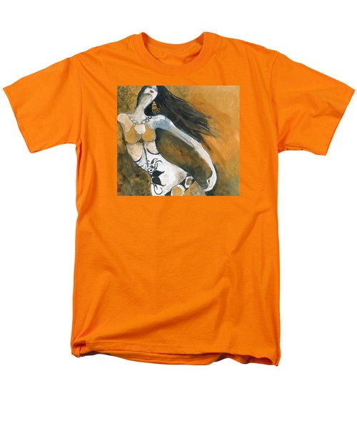 Men's T-Shirt  (Regular Fit) featuring the painting Autumn Golds by Maya Manolova