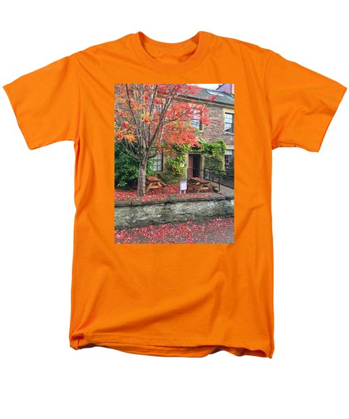 Men's T-Shirt  (Regular Fit) featuring the photograph Autumn In Dunblane by RKAB Works