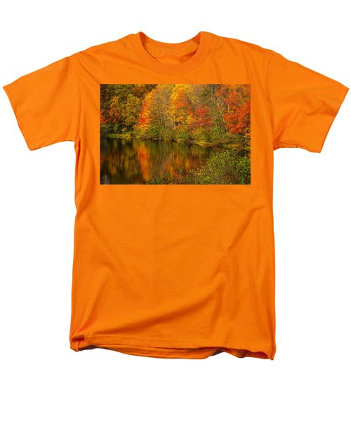 Autumn In Monroe Men's T-Shirt  (Regular Fit) by Karol Livote