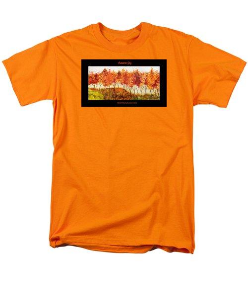 Autumn Joy Men's T-Shirt  (Regular Fit)