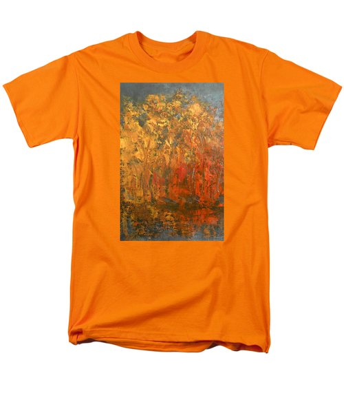 Autumn Reflections 1 Men's T-Shirt  (Regular Fit) by Jane See