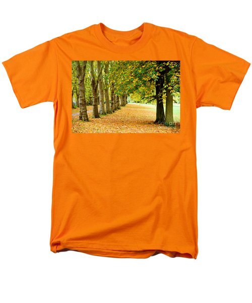 Autumn Walk Men's T-Shirt  (Regular Fit) by Colin Rayner