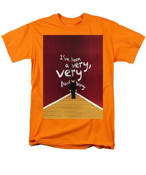 Bad Boy Greeting Card Men's T-Shirt  (Regular Fit)