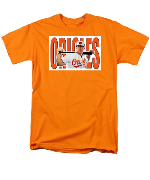 Baltimore Orioles Men's T-Shirt  (Regular Fit) by Stephen Younts