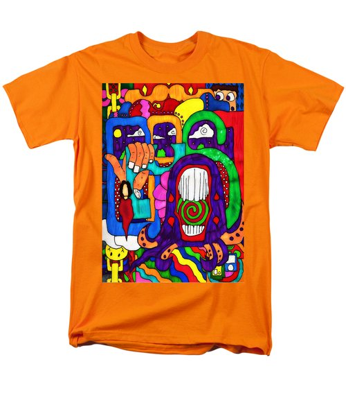 Basic Men's T-Shirt  (Regular Fit) by Pennie  McCracken