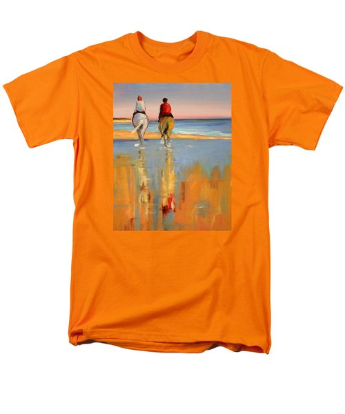 Beach Riders Men's T-Shirt  (Regular Fit) by Trina Teele
