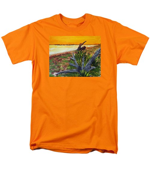 Beach Sunset Men's T-Shirt  (Regular Fit) by Jack G  Brauer