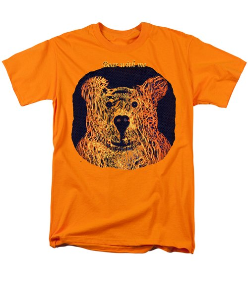 Bear With Me Men's T-Shirt  (Regular Fit) by John M Bailey