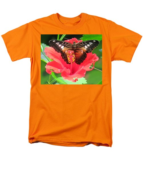 Beautiful Butterfly Men's T-Shirt  (Regular Fit) by Betty Buller Whitehead