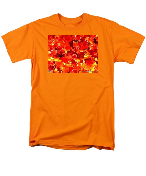 Men's T-Shirt  (Regular Fit) featuring the painting Beautiful Sunrise by Holley Jacobs