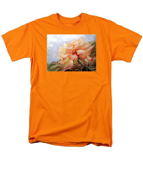 Men's T-Shirt  (Regular Fit) featuring the painting Beauty In Yellow by Carol Grimes