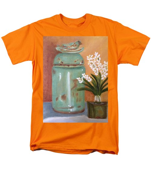 Men's T-Shirt  (Regular Fit) featuring the painting Bell Jar by Sharon Schultz
