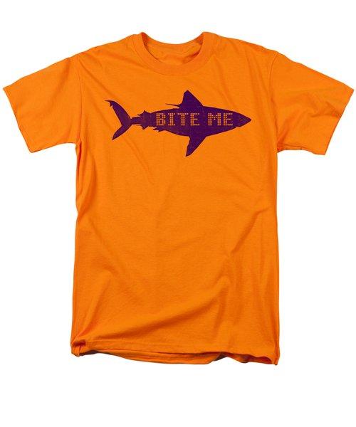 Bite Me Men's T-Shirt  (Regular Fit) by Michelle Calkins