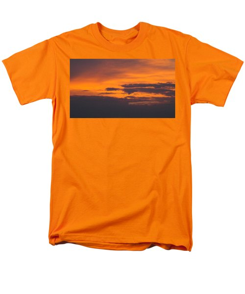 Black Cloud Sunset  Men's T-Shirt  (Regular Fit) by Don Koester