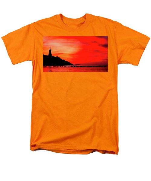 Black Sea Turned Red Men's T-Shirt  (Regular Fit) by Reksik004