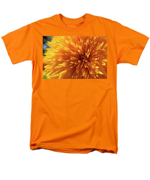 Men's T-Shirt  (Regular Fit) featuring the photograph Blooming Sunshine by Marie Leslie
