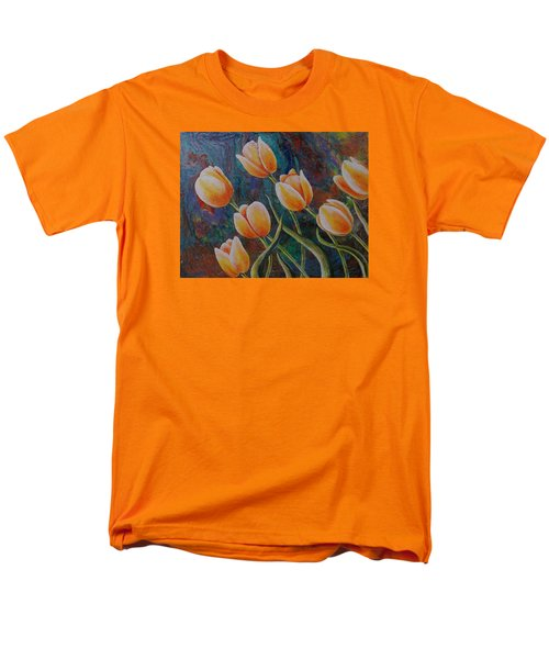 Men's T-Shirt  (Regular Fit) featuring the painting Blowing In The Wind by Susan DeLain
