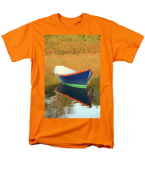 Men's T-Shirt  (Regular Fit) featuring the photograph Blue Dory by Roupen  Baker
