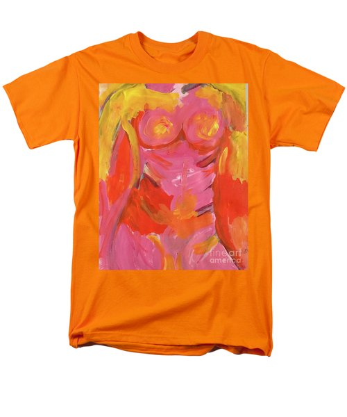 Men's T-Shirt  (Regular Fit) featuring the painting Body Image by Kim Nelson
