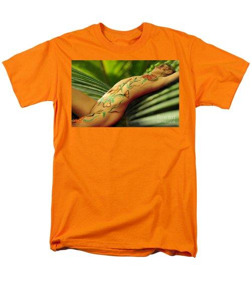 Bodyart 5 Men's T-Shirt  (Regular Fit) by Tbone Oliver