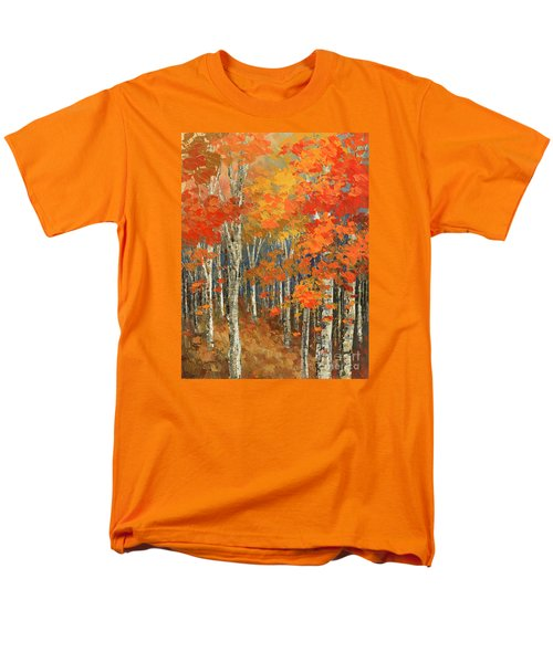 Men's T-Shirt  (Regular Fit) featuring the painting Bold Banners by Tatiana Iliina