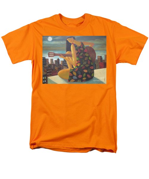 Men's T-Shirt  (Regular Fit) featuring the painting Brazil by Glenn Quist