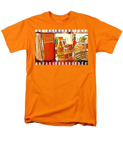 Breakfast At Paul's Men's T-Shirt  (Regular Fit) by Toni Hopper