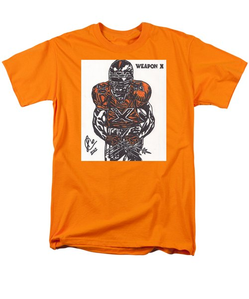 Men's T-Shirt  (Regular Fit) featuring the drawing Brian Dawkins by Jeremiah Colley