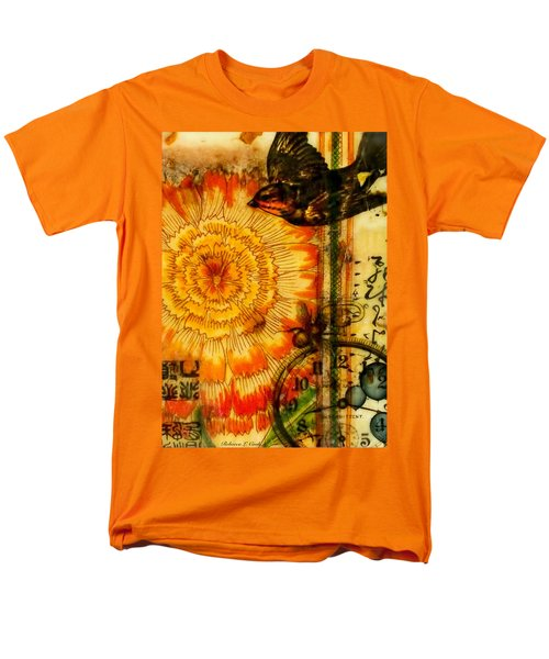 Bright Life Encaustic Men's T-Shirt  (Regular Fit) by Bellesouth Studio
