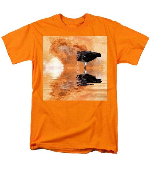 Brown Ibis Men's T-Shirt  (Regular Fit) by Cyndy Doty