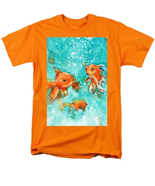 Bubbles Men's T-Shirt  (Regular Fit) by Judith Levins