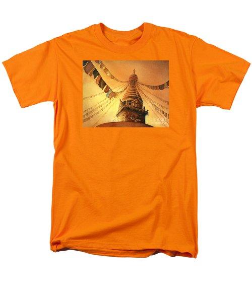 Buddhist Stupa- Nepal Men's T-Shirt  (Regular Fit)