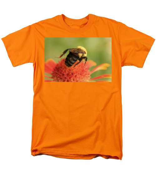Men's T-Shirt  (Regular Fit) featuring the photograph Bumblebee by Chris Berry