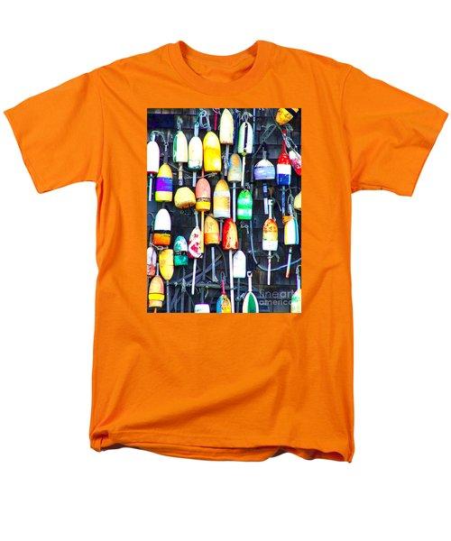 Men's T-Shirt  (Regular Fit) featuring the photograph Buoy Art by Bill Holkham