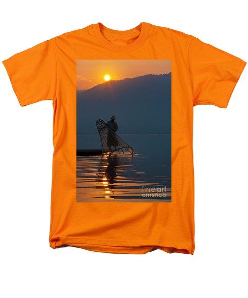 Men's T-Shirt  (Regular Fit) featuring the photograph Burma_d143 by Craig Lovell