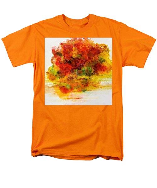 Burst Of Nature IIi Men's T-Shirt  (Regular Fit)