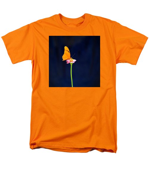 Men's T-Shirt  (Regular Fit) featuring the photograph Butterfly Bloom by Mary Zeman