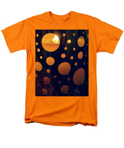 Men's T-Shirt  (Regular Fit) featuring the photograph Candle Holder by Carlos Caetano