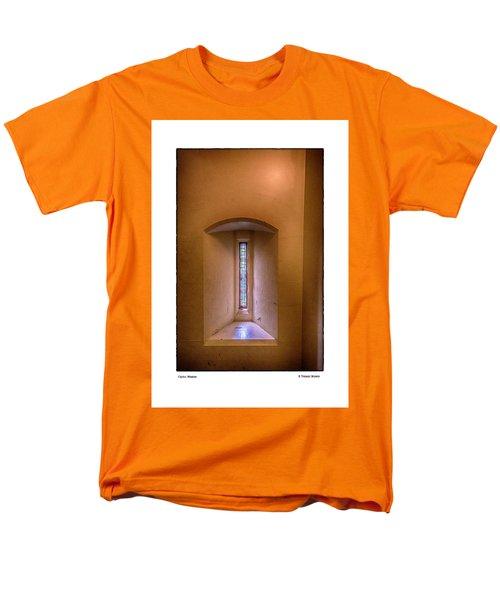 Castle Window Men's T-Shirt  (Regular Fit) by R Thomas Berner