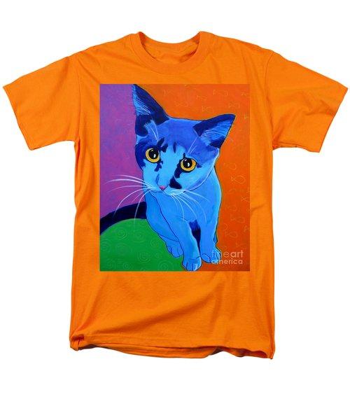 Cat - Kitten Blue Men's T-Shirt  (Regular Fit)