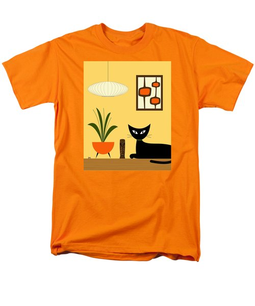 Cat On Tabletop With Mini Mod Pods 3 Men's T-Shirt  (Regular Fit)