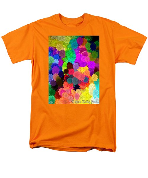 Men's T-Shirt  (Regular Fit) featuring the painting Catcha Little Groove by Holley Jacobs