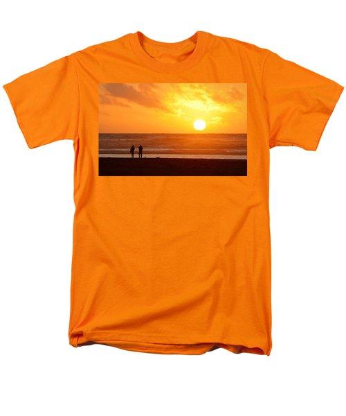 Catching A Setting Sun Men's T-Shirt  (Regular Fit) by AJ Schibig