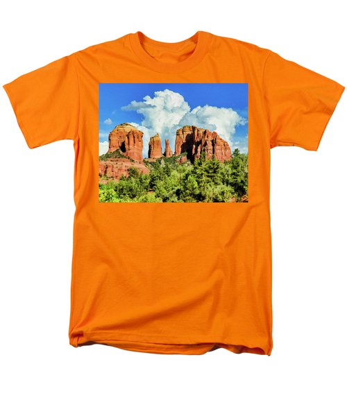 Cathedral Sed M 04-115 Men's T-Shirt  (Regular Fit) by Scott McAllister