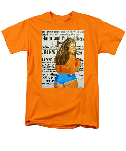 Cece Caution Men's T-Shirt  (Regular Fit) by Deedee Williams