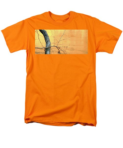 Men's T-Shirt  (Regular Fit) featuring the photograph Chagrin River Gold by Bruce Patrick Smith
